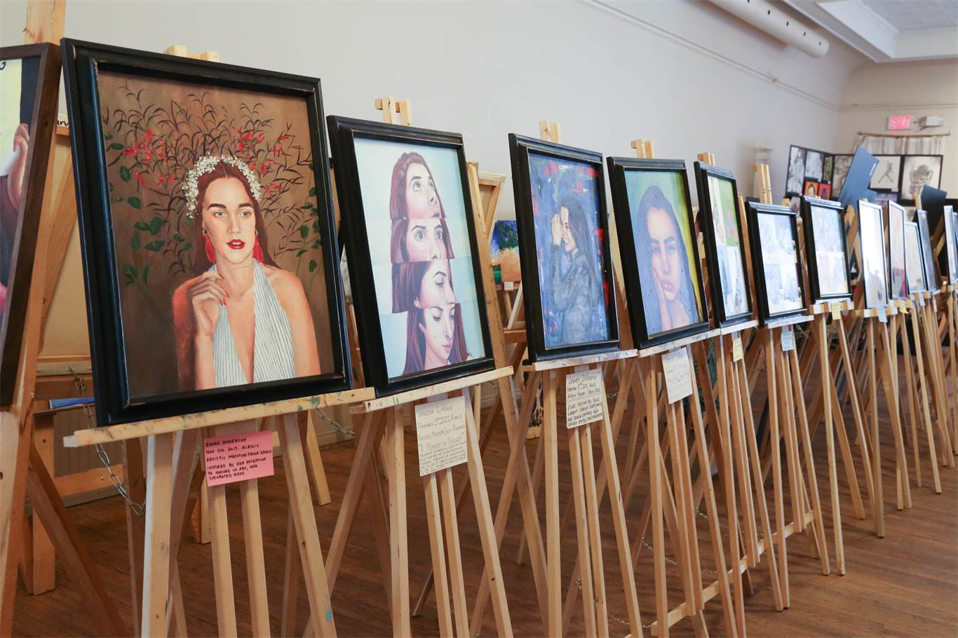 Secondary art exhibit adds to Hamilton's Art Crawl