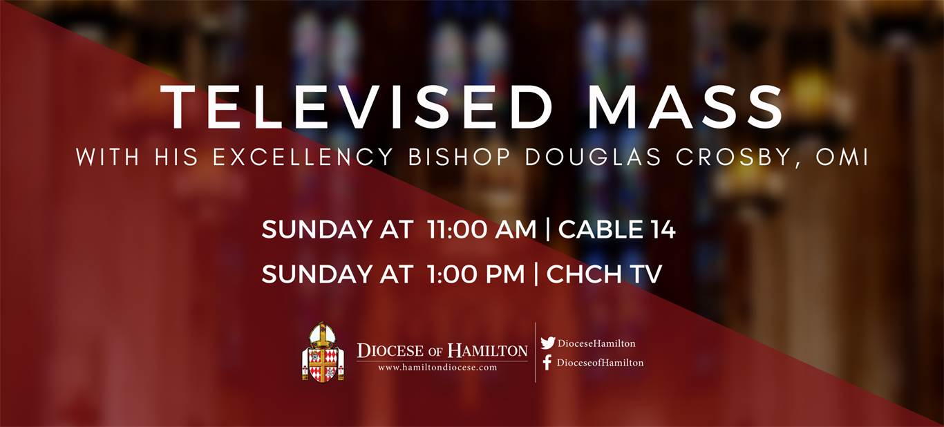Televised Mass - Sunday 11am and 1pm
