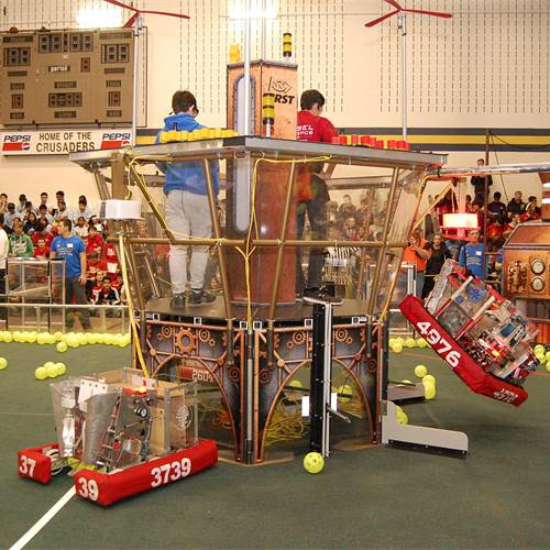 Robots go full steam at 3rd annual STEMley Cup